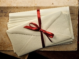 ribbon, Envelopes