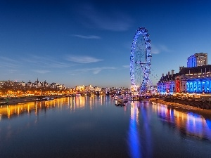 River, Observational, London, thames, circle