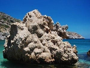 Rodos, Rocks, Greece