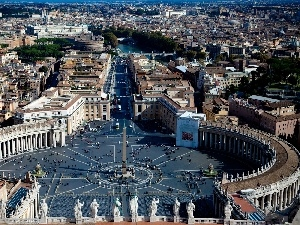 Rome, peter, square, Holy