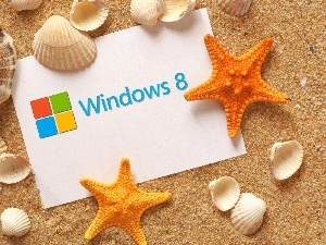 Sand, Shells, Windows 8