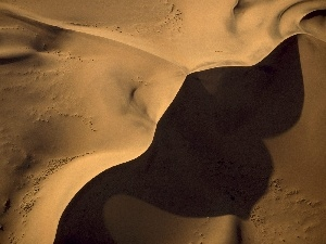 Africa, shadow, Namibia