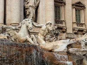 Sights, Rome, di trevi
