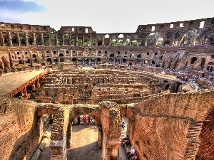 ruins, sightseeing, Coloseum