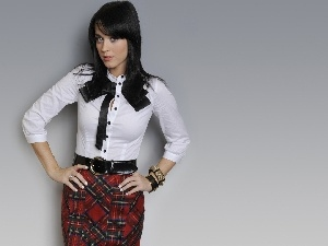 Skirt, Blouse, Katy Perry, bow
