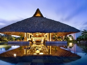 spa, Pool, The hotel, Mexico, Bar