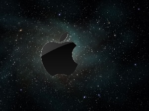 star, Universe, logo, Apple