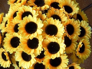 sunflowers, bouquet