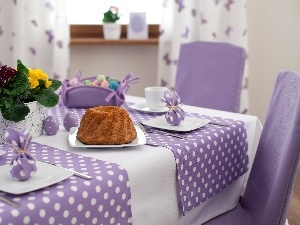 decor, table, easter