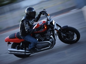 test, ride, Harley Davidson XR1200