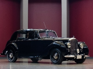 The historic car, Bentley Mark VI