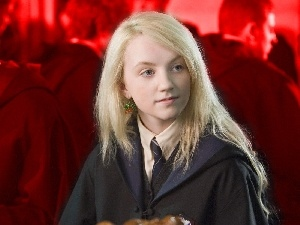 Tie, Harry Potter, Luna Lovegood