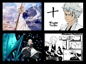 collage, Toshiro Hitsugaya