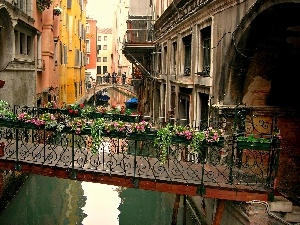 transition, water, Venice, Houses