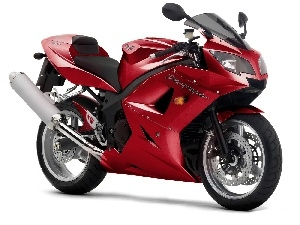 Triumph Daytona 600, Red