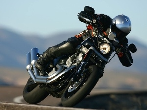 turn, inclination, Harley Davidson XR1200