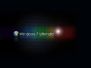 Ultimate, Windows 7, color, logo