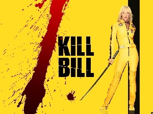 Uma Thurman, kill Bill, blood