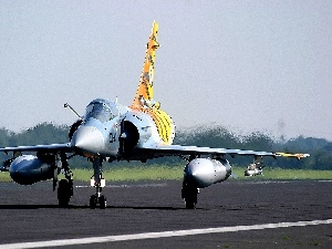 vibrating, air, Mirage 2000