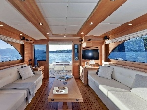 View, yacht, interior, cabin