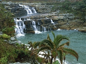 waterfall, Mkambati, Coast, Africa