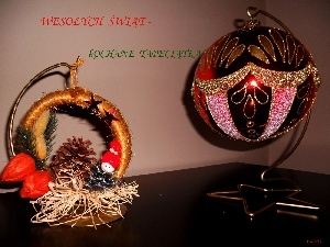 Wishes, bauble, festive, headdress