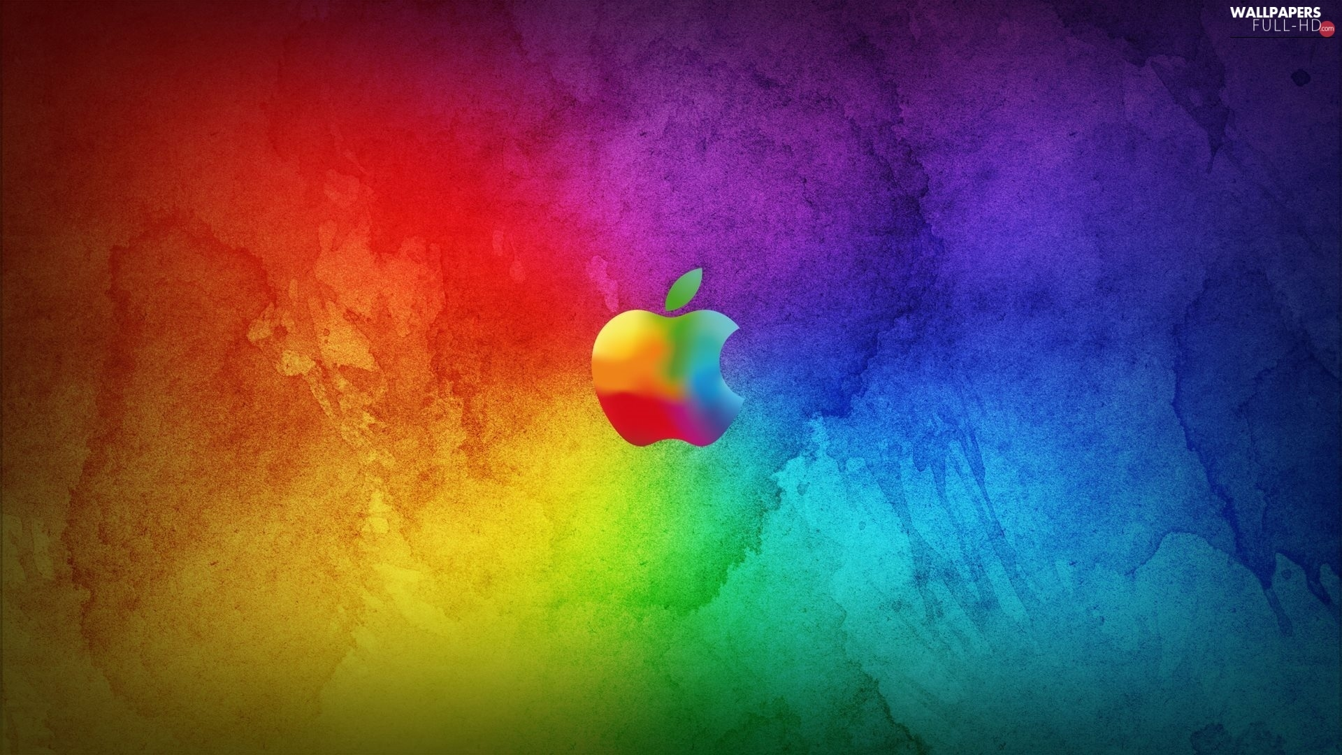 logo, Apple, color
