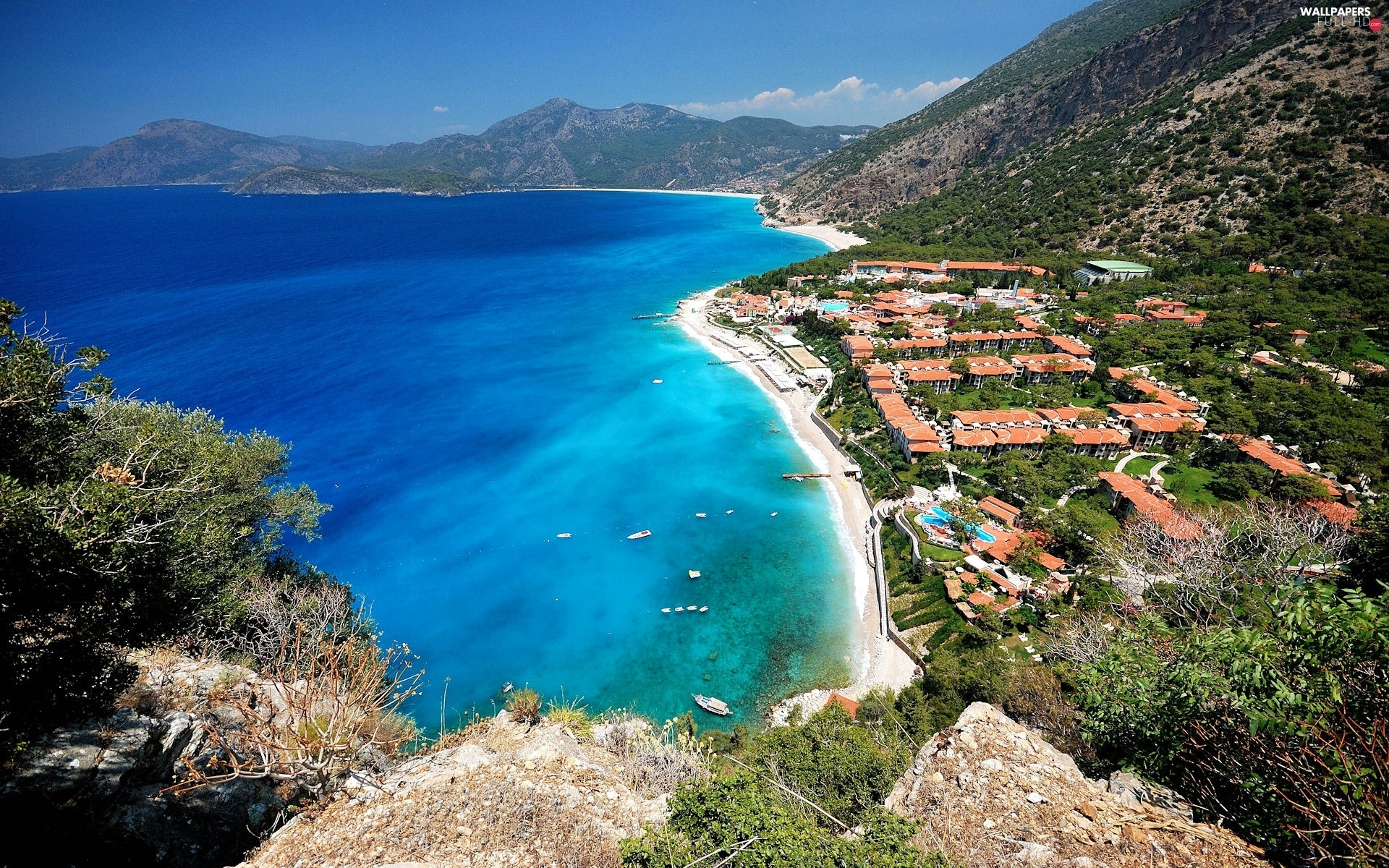 Beaches, Oludeniz, Turkey, sea, Town