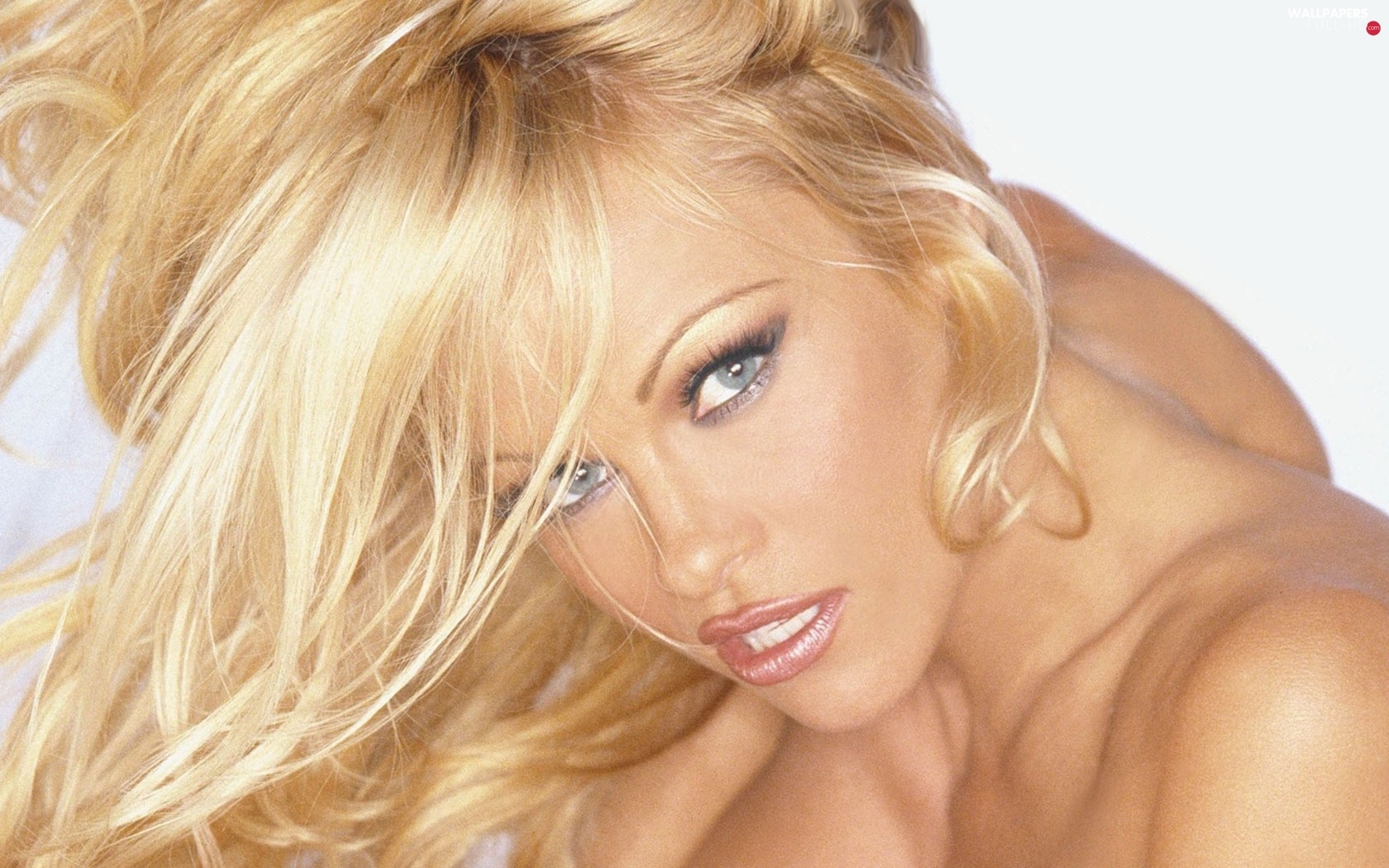 Blond, Hair, Pamela Anderson