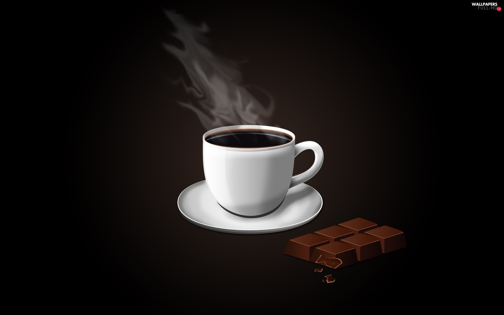 chocolate, coffee, cup, hot