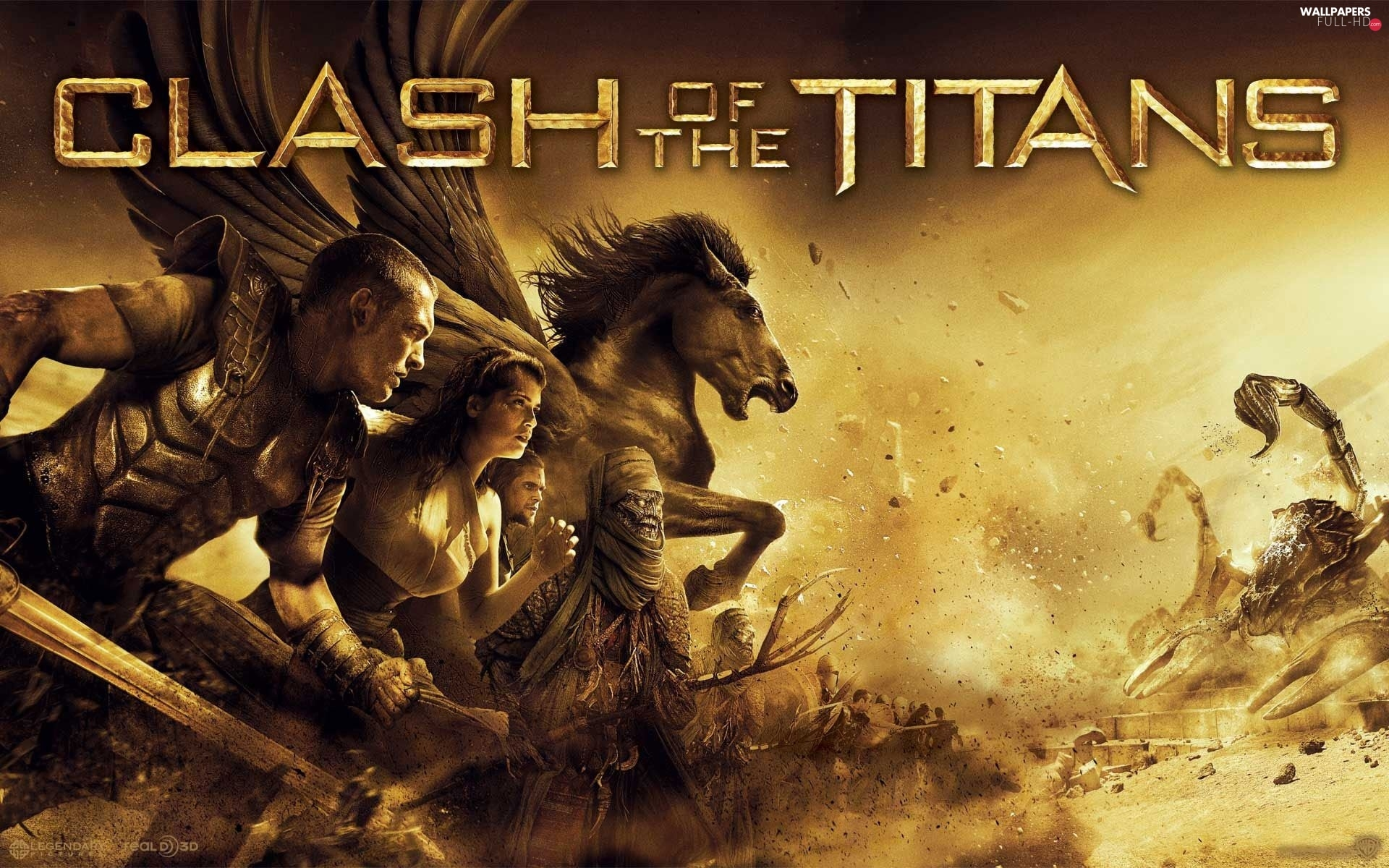 Clash of the Titans, movie