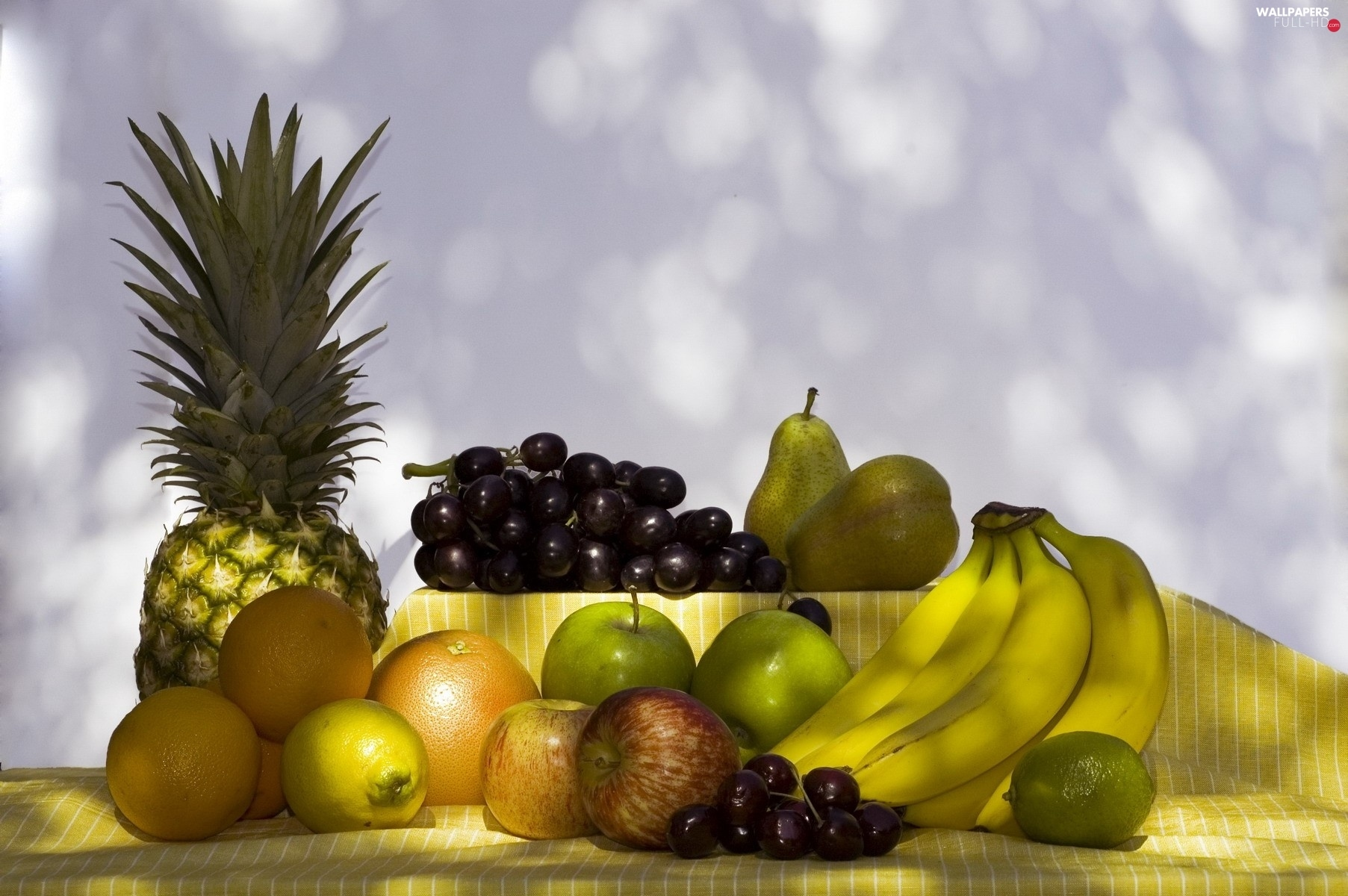 arranged, decoration, Fruits