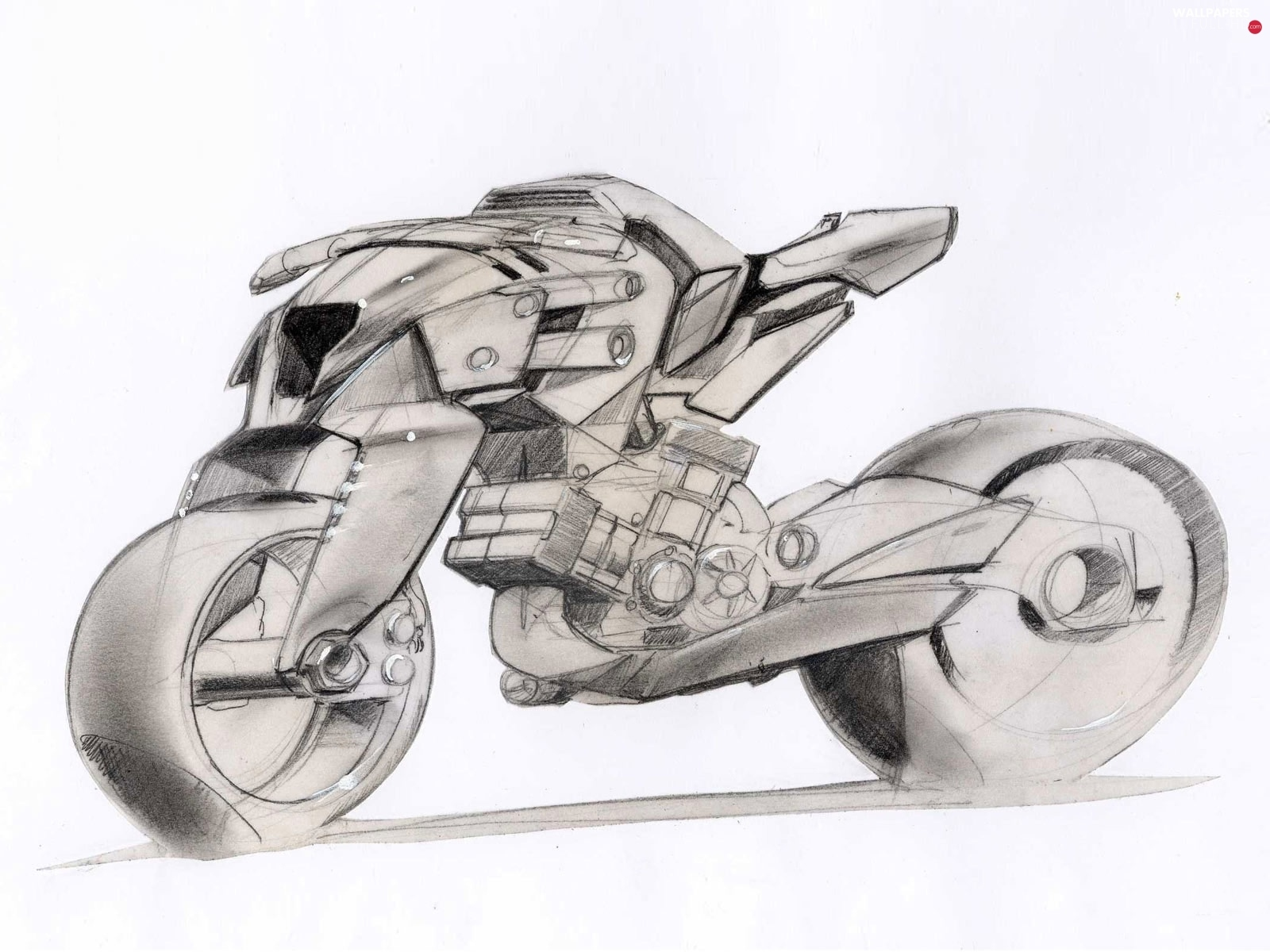 Draft, designed, Aprilia FV2 1200