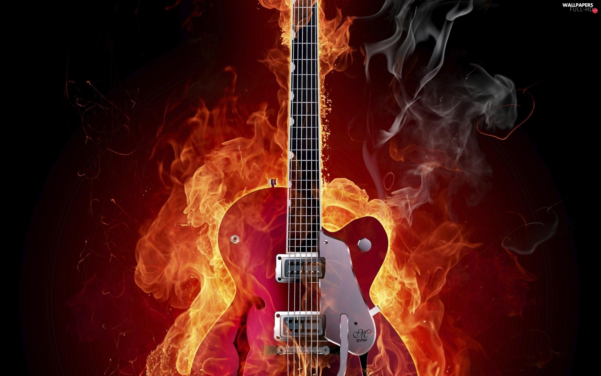 Big Fire, Guitar