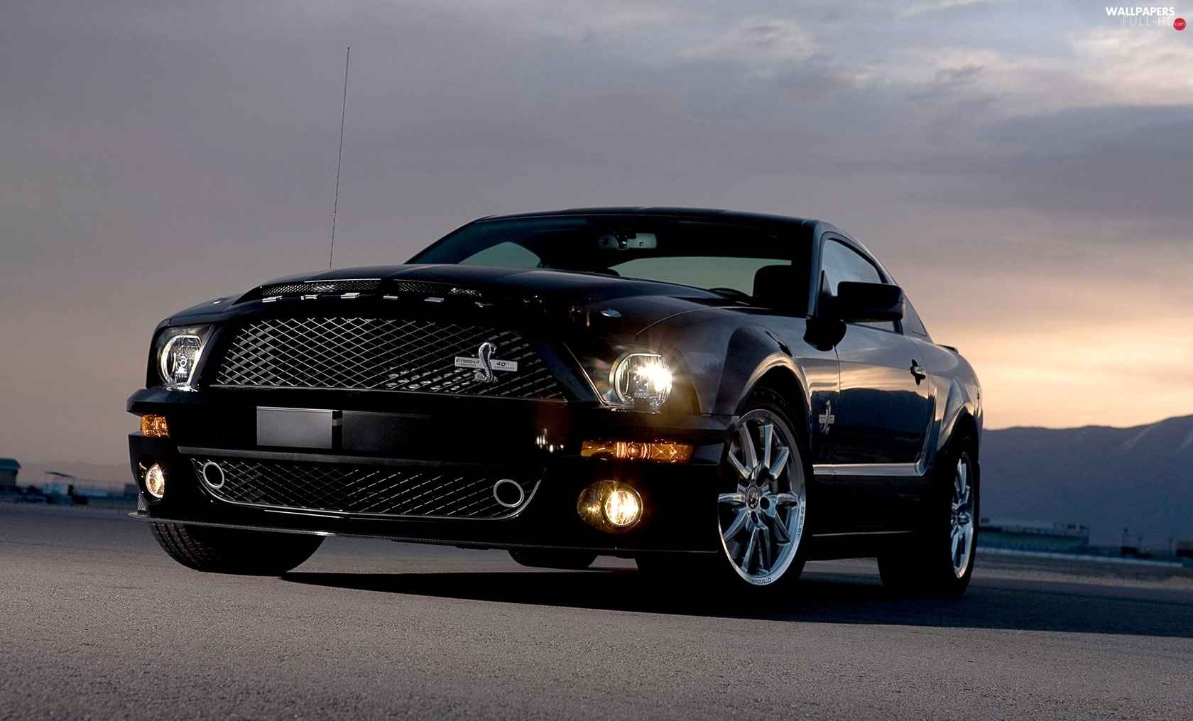 Ford Shelby GT 500 KR, Black