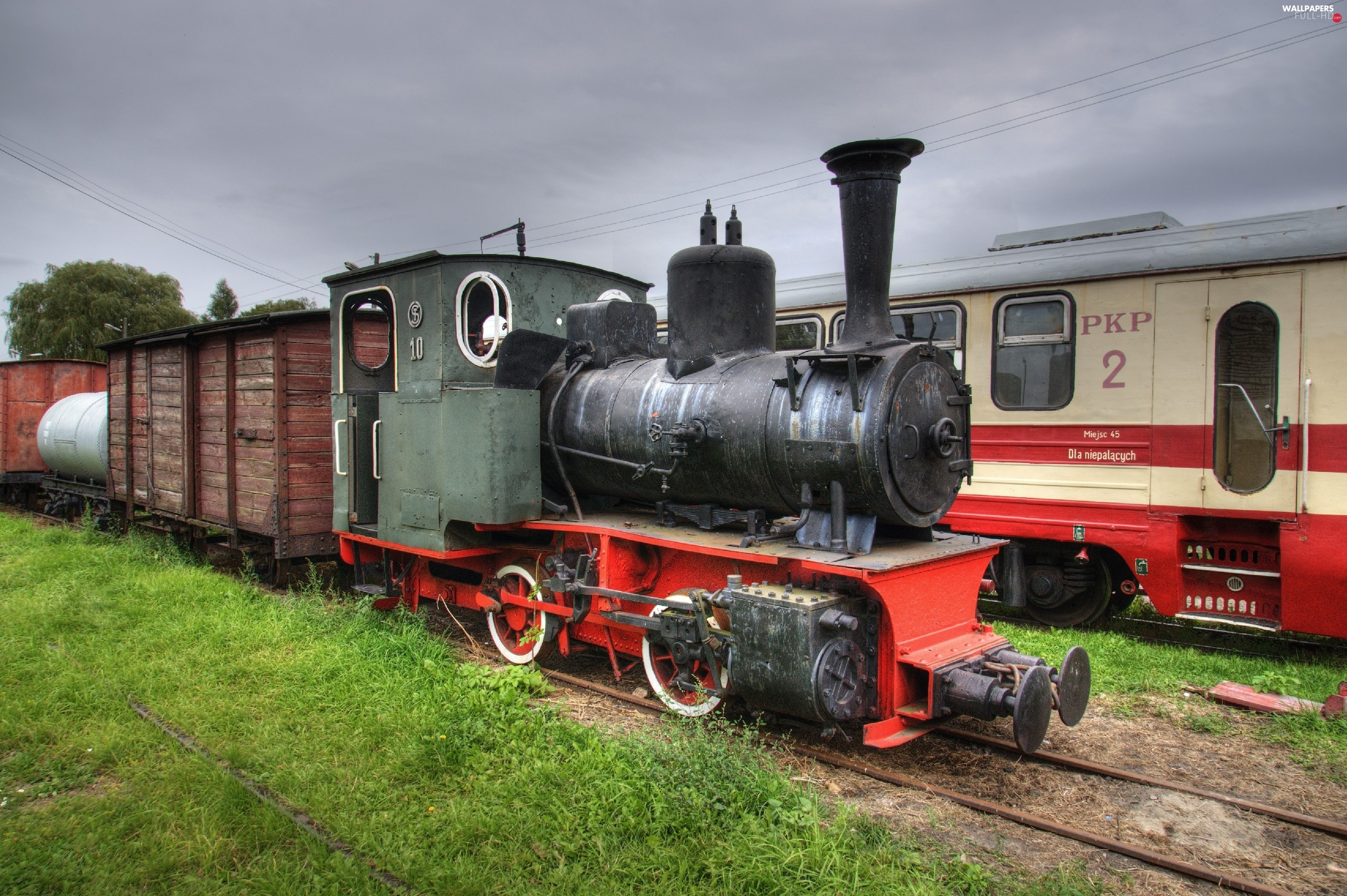 Narrow Gauge, locomotive