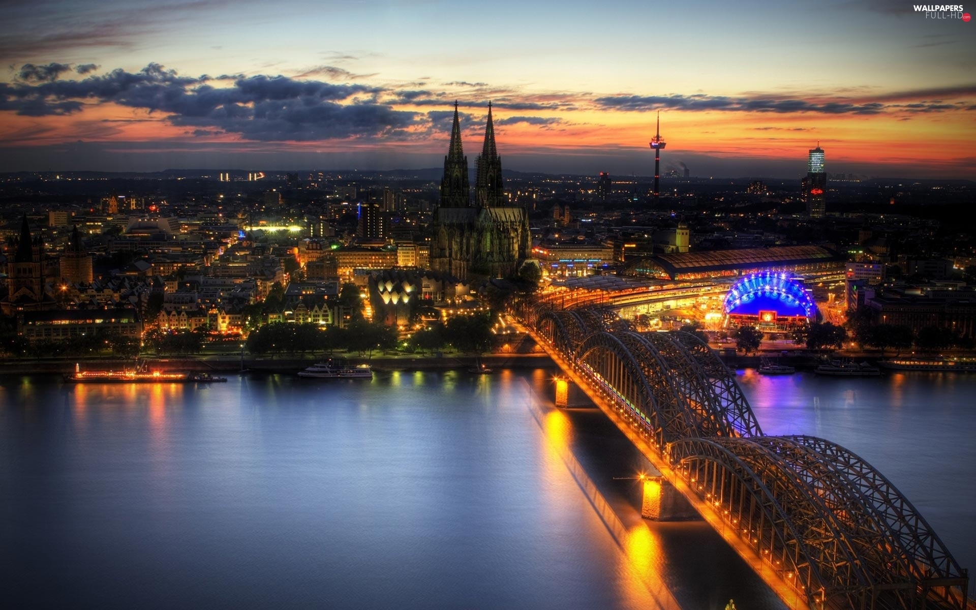 Cologne, Germany, panorama
