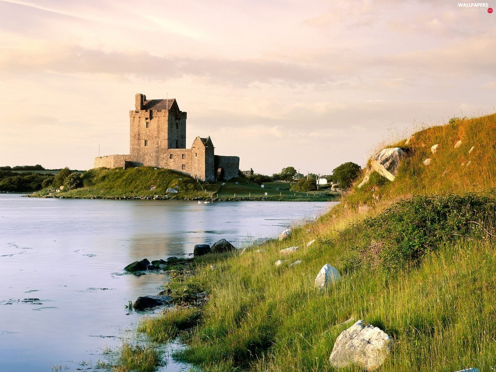 Gulf, Ireland, Castle, Dunguaire