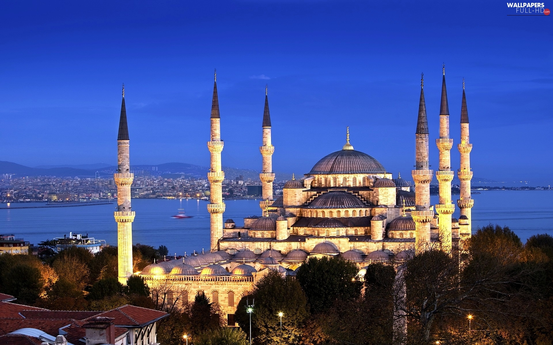 Turkey, Istanbul, Sultan Ahmed Mosque, The Blue Mosque
