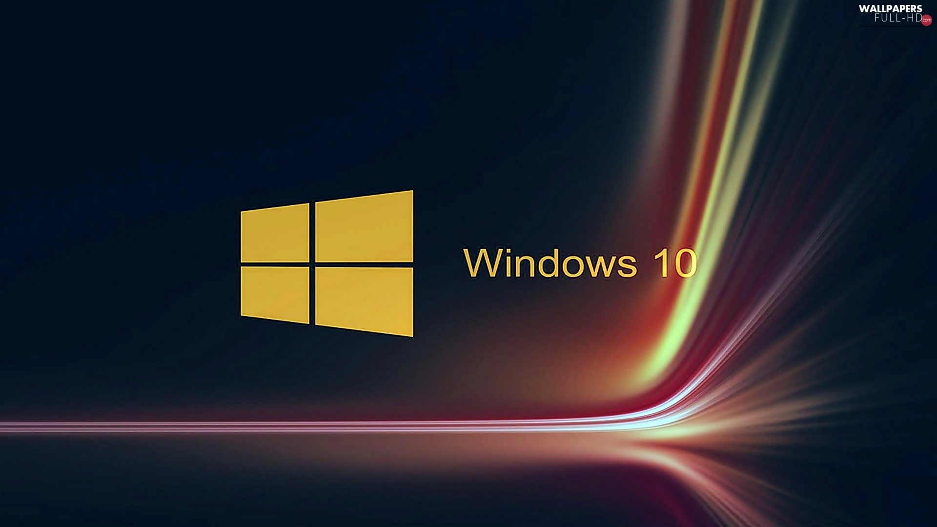 logo, Windows 10, system, operating