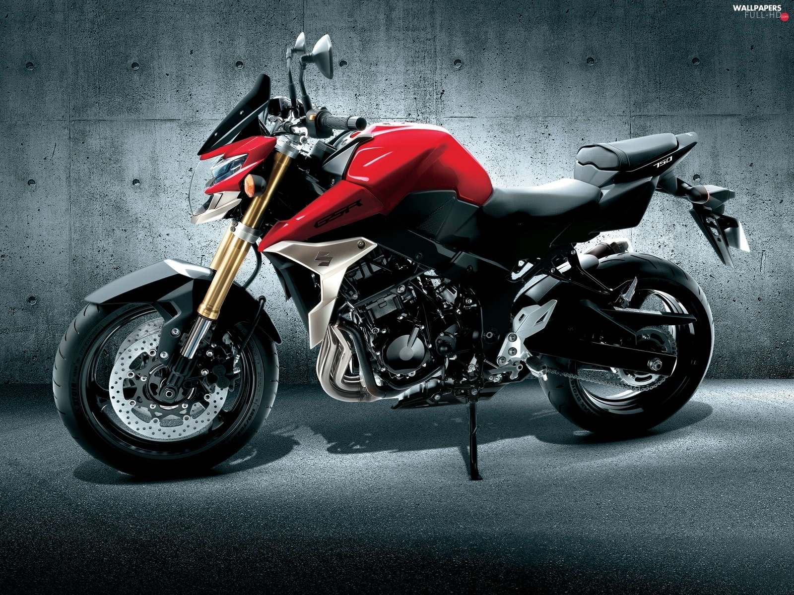 model, Suzuki GSR750, New