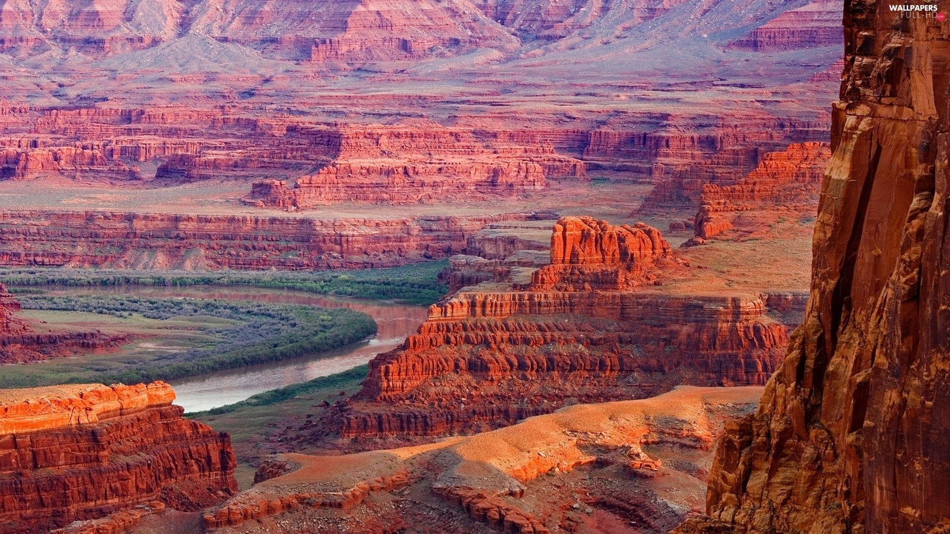 River, canyons