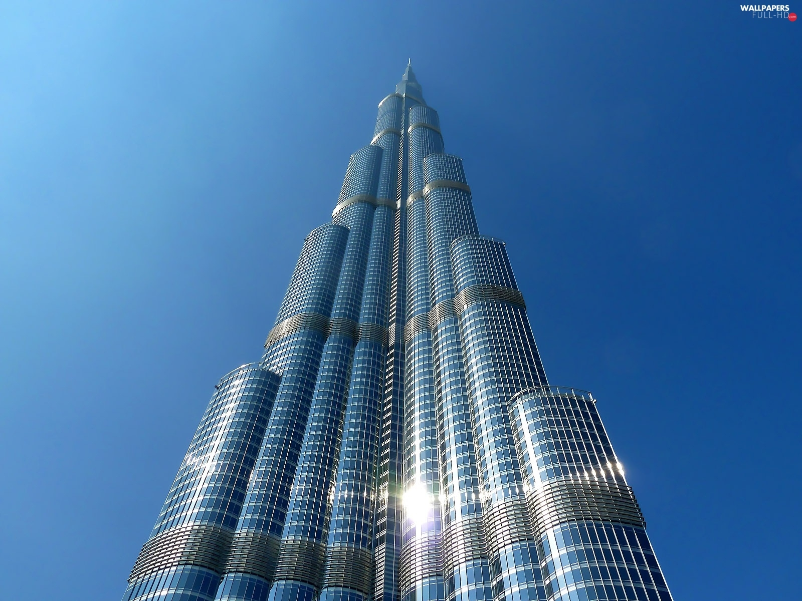 ##, The look, Dubaj, Sky, Burj Khalifa