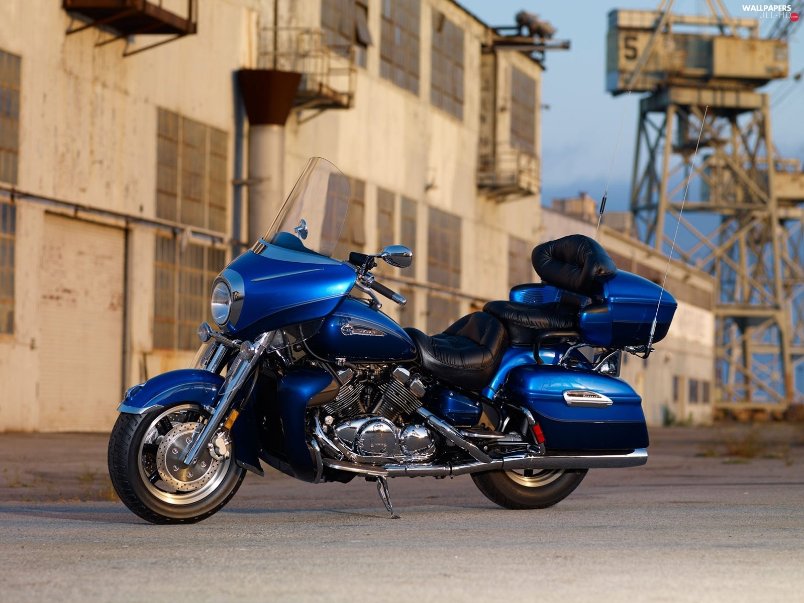 Yamaha Royal Star Venture, Chromium, Blue